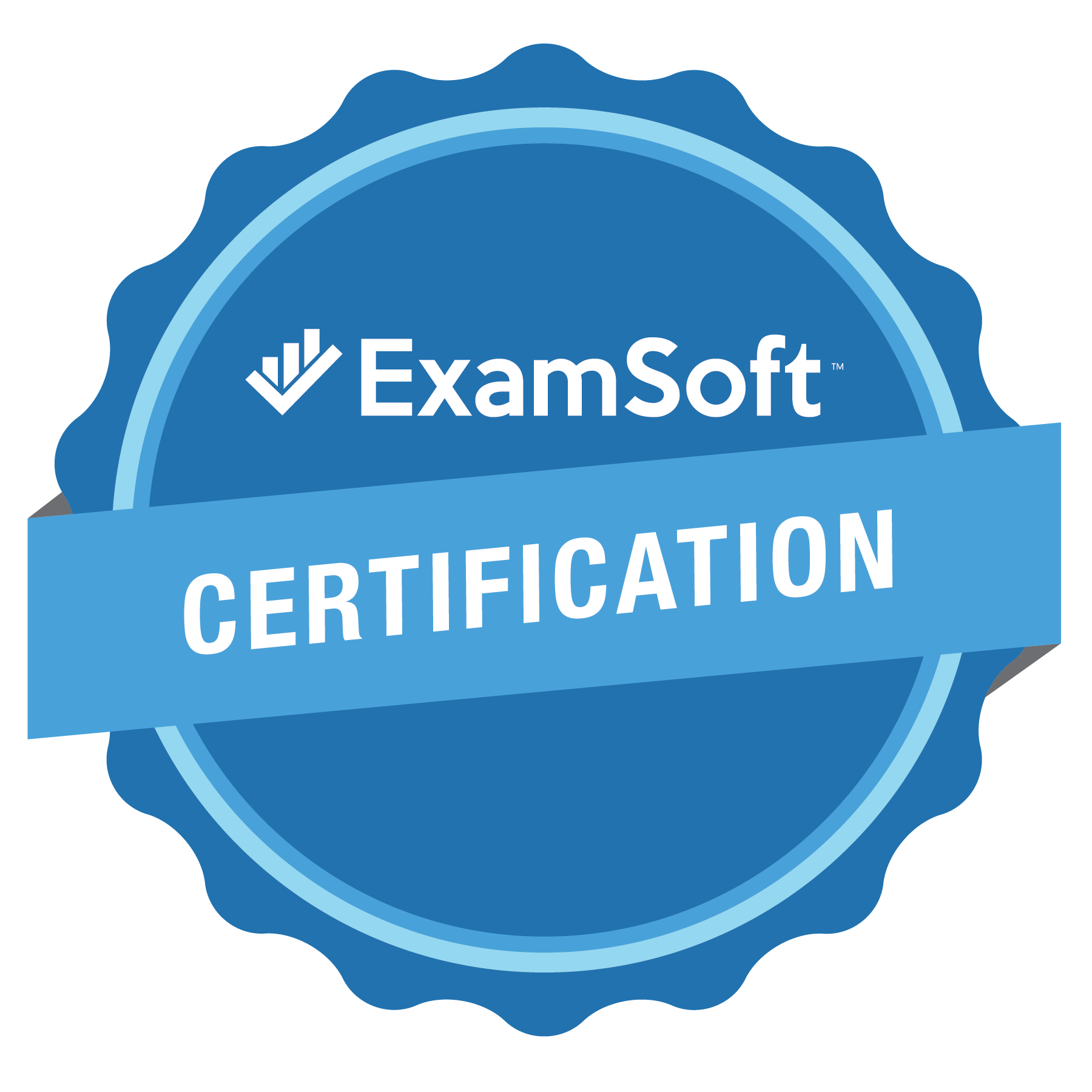 The ExamSoft Certification Program Badge
