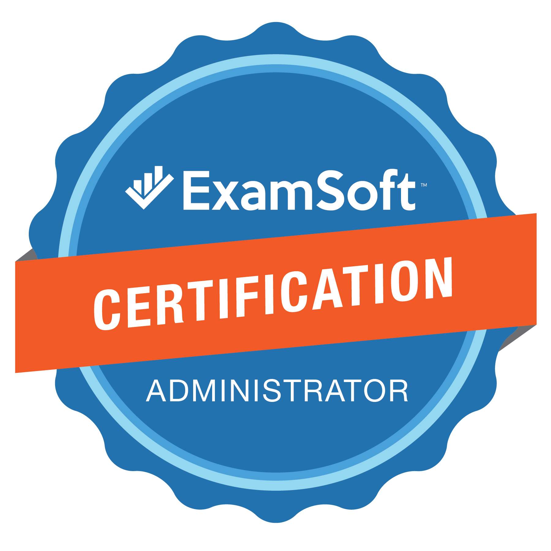 The ExamSoft Certification Administrator Program Badge