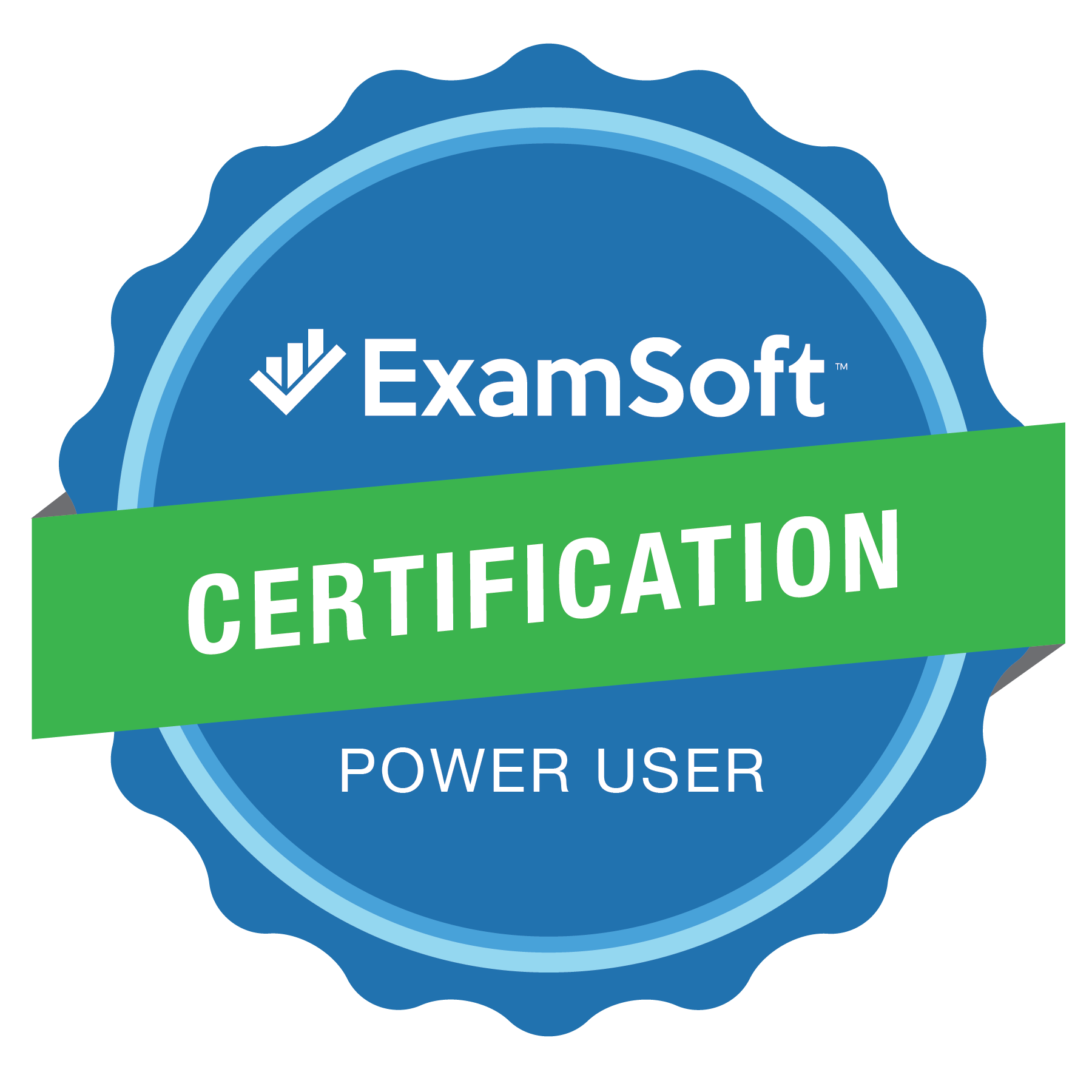 The ExamSoft Certification Power User Program Badge