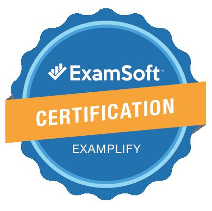 The ExamSoft Examplify Certification Program Badge